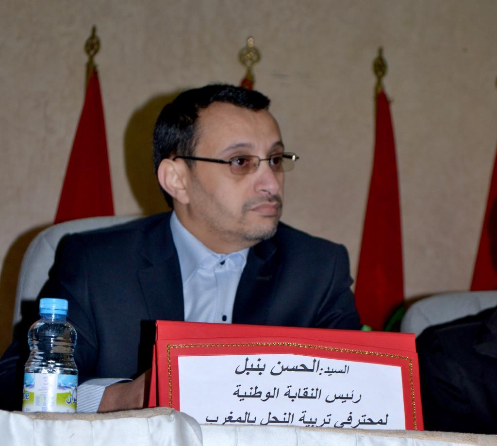 الحسن بنبل : رئيس النقابة الوطنية لمحترفي تربية النحل بالمغرب