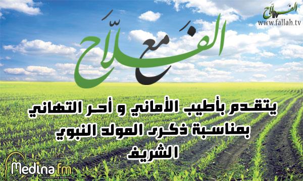 affiche maa alfalah٢mawlid