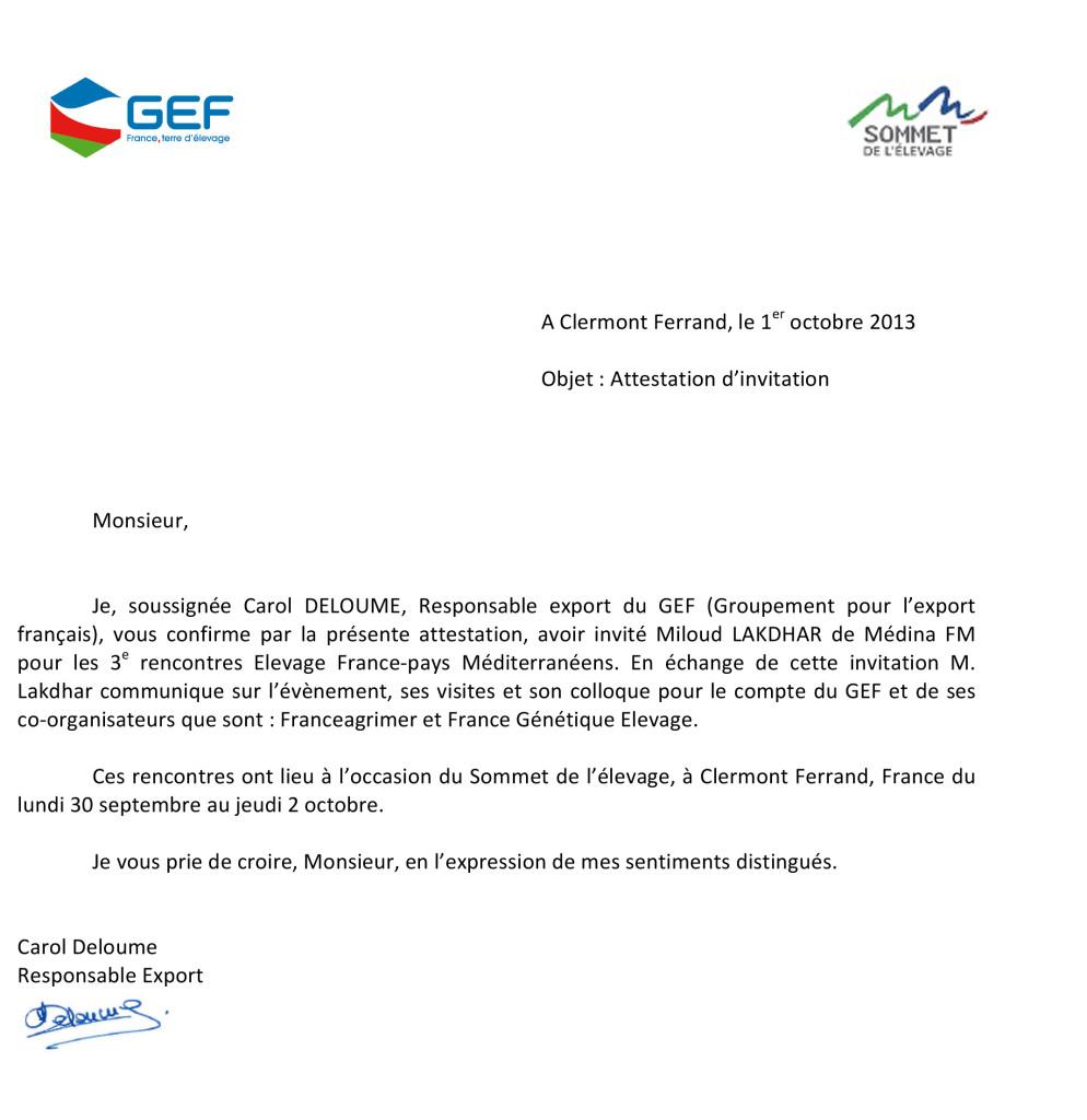 Microsoft Word - attestation invitation Miloud.docx