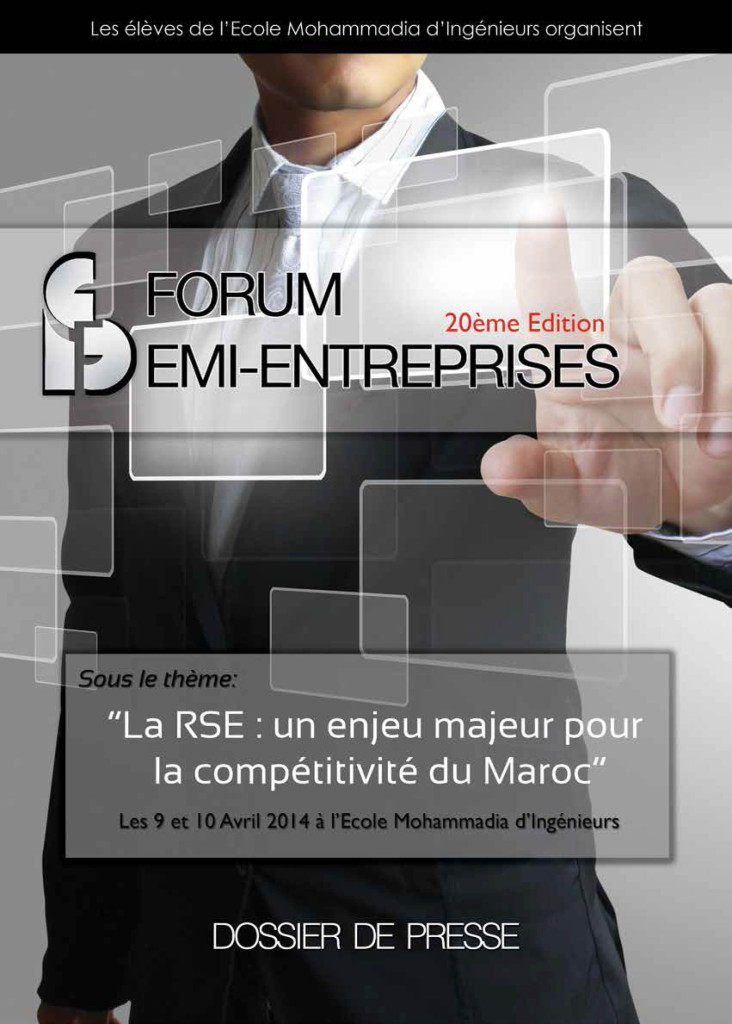 Dossier de Presse FORUM EMI-ENTREPRISES 2014 (1)-1