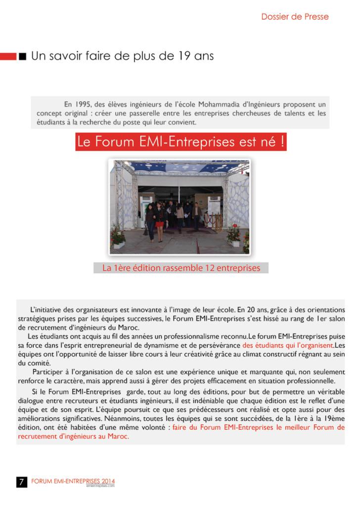Dossier de Presse FORUM EMI-ENTREPRISES 2014 (1)-10