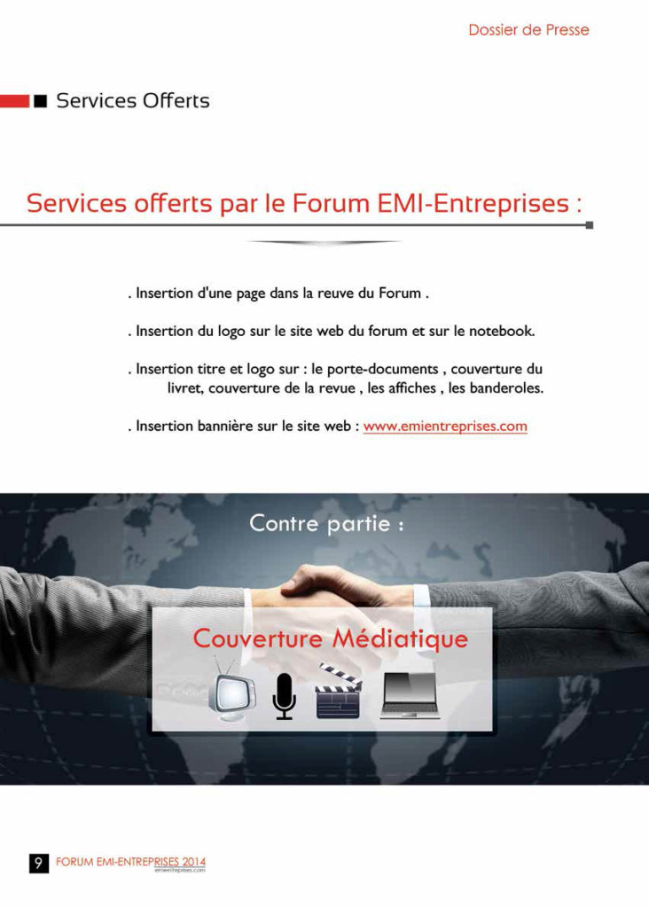 Dossier de Presse FORUM EMI-ENTREPRISES 2014 (1)-12