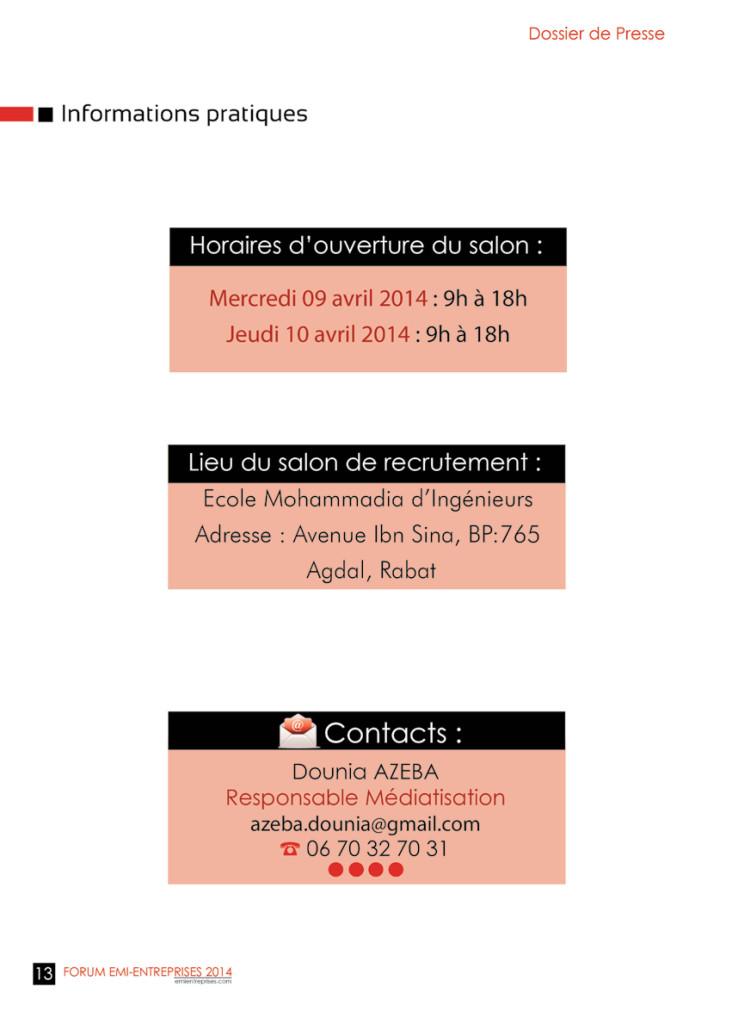 Dossier de Presse FORUM EMI-ENTREPRISES 2014 (1)-16