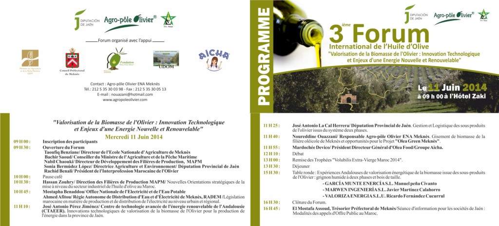 programme 3 forum 2014