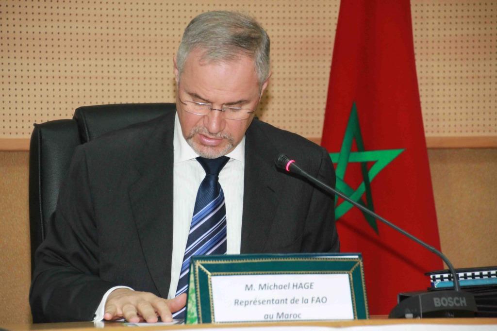 ممثل منظمة الأمم المتحدة للتغذية و الفلاحة، جورج ميشال هيج
