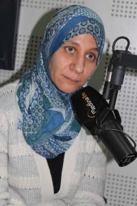 الدكتورة أسماء كاميلي :رئيسة مصلحة الإنتقاء الصحي و ترقيم الحيوانات بمديرية المصالح البيطرية بالمكتب الوطني للسلامة الصحية للمنتجات الغذائية.