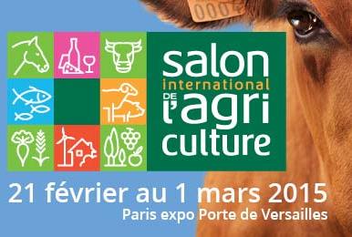 SALON INTERNATIONAL DE L'AGRICULTURE PARIS 2015