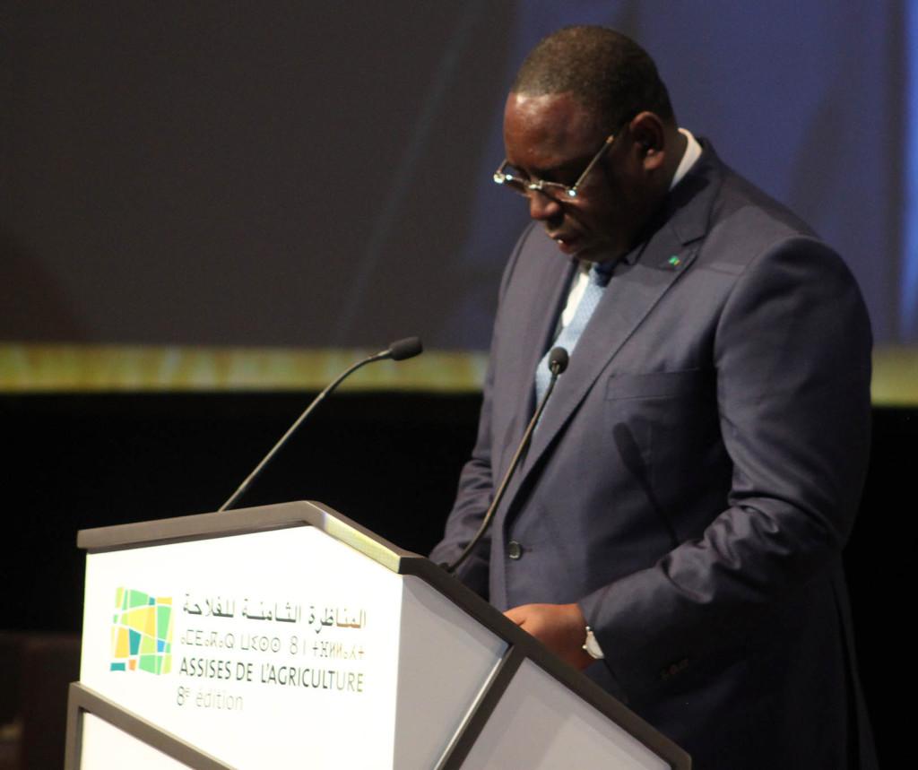 الرئيس السنغالي السيد ماكي سال