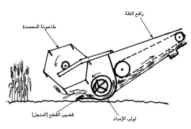 الرسم 2 : طاولة المحصدة