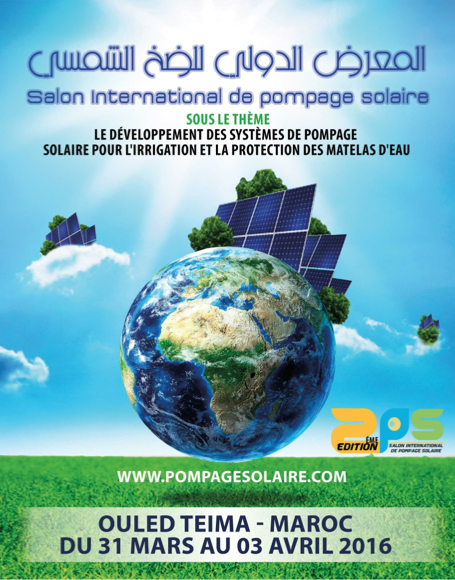 SALON INTERNATIONAL DE POMPAGE SOLAIRE