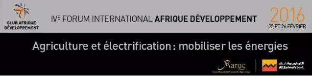 forum international afrique  developpement